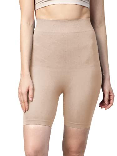 Symvi Waist Shaper for Woman   Shapewear   Butt Lifter   Tummy Tucker Control Beige