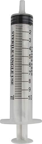 Romed Medical siringhe monouso sterili confezionate singolarmente - 10 ml, 25 pezzi