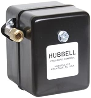 Midwest Control 69HAU3 Hubbell Pressure Switch with Unloader, 30-40 psi Factory Setting Cut in/Cut Out Pressure, 15-60 Total Pressure Range
