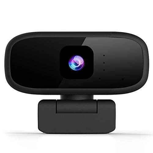 Aovaza Cámara Web Full HD 1280 x 720P con Micrófono, Computadora Portátil PC de Escritorio USB 2.0 Webcam para videollamadas, Estudios, conferencias, grabación, Juegos con Clip Giratorio. (720P)