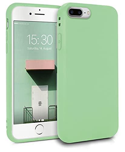 MyGadget Cover per Apple iPhone 7 Plus / 8 Plus - Custodia Protettiva in Silicone Morbido – Case TPU Flessibile/Antiurto/Antigraffio - Verde chiaro