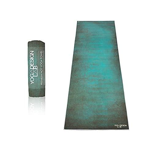 YOGA DESIGN LAB | The HOT Yoga Towel | Premium Non Slip Colorful Towel | Eco Printed +...