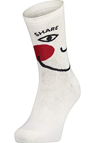 Maloja Basochkum. Socken Weiß, Damen Socken, Größe 36-38 - Farbe Vintage White