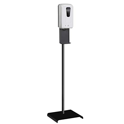 Automatic Hand Sanitizer Dispenser, 1200ml Hand Sanitizer Stand - Touchless Auto Sensor Sanitizing Station - Ship from USA- Steel Floor Stand, Drip Catcher - Ideal for All Public Places