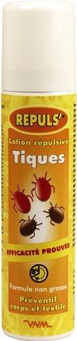 ABATOUT REPULS' - Tiques Lotion Répulsive Corporelle - 110 ml