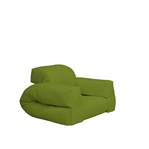 KARUP Hippo Chair Sedia, Cottone/Poliestere, Lime 733, 100x90x75 cm