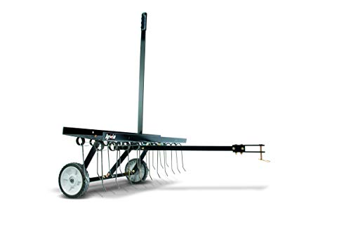 Agri-Fab AG45-0294 - Escarificador de césped (101,6 cm, púas con resorte), color negro