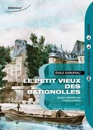 Bll Petit Vieux des Batignolles Gaboriau