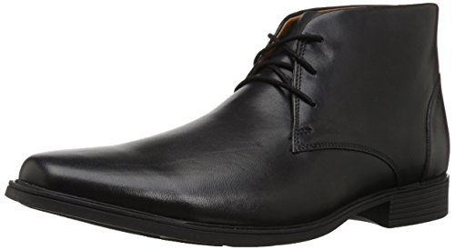 Clarks Men's Tilden Top Fashion Boot, black leather, 070 M...