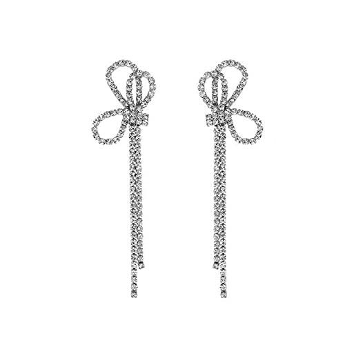 S925 pendientes de aguja de plata c-bit pendientes de temperamento pendientes de mujer