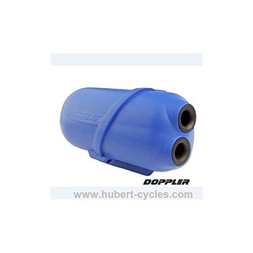 Motodak Filtre a air Doppler air Box Bleu Moteur minarelli et Piaggio - diam 28/35mm