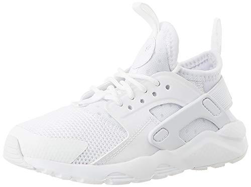 Nike Huarache Run Ultra (PS), Zapatillas para Niños, Blanco (White/White-White 001), 28 EU