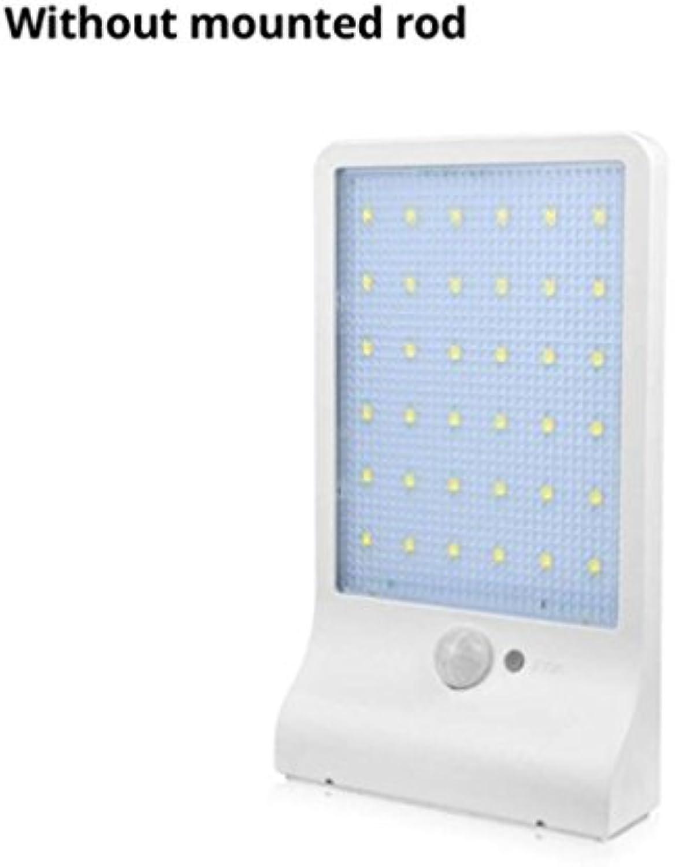 Hycy Bewegungsmelder LED Wandleuchte Solar Power Outdoor Nachtlicht Für Strae Garten Tür Weg Yard Path Zaun Patio Sicherheitsbirne,A