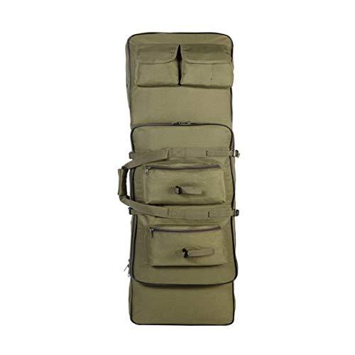 Wanderrucksack Jagdausrüstung 85 cm / 100 cm / 120 cm Taktische Waffentasche Armee Military Airsoft Gewehr Fall Schutztasche Outdoor Schulter Rucksack (Farbe : Green, größe : 120cm)