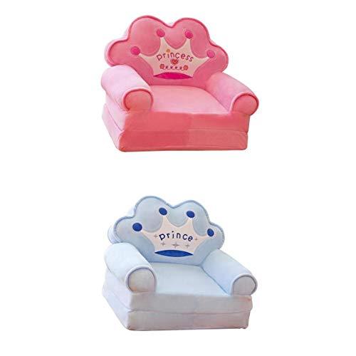 Amuzocity 2 Piezas Elástico Rosa Corona Silla Sofá Funda para Niños Mascotas Impermeable