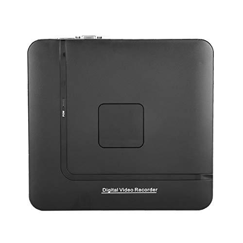 Mxzzand 8CH Full HD CCTV NVR Grabadora de Red ONVIF Protocolo de Red Grabadora IP Sistema doméstico Soporte para múltiples tecnologías en la Nube(EU Plug)