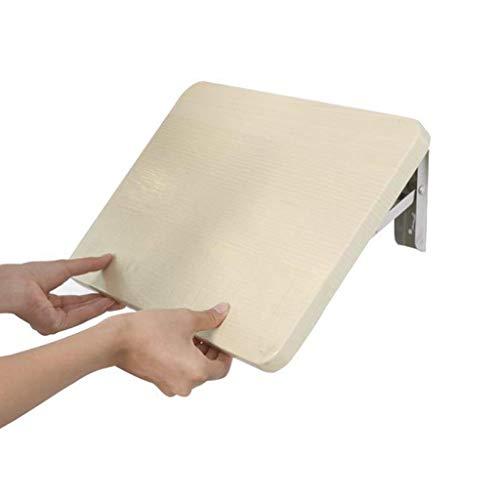 NOSSON Home Folding Drop-Leaf-Tisch Wandmontage Bürocomputer Schreibtisch Laptop-Ständer Multifunktions-Arbeitsstation für kleine Räume Verdicktes Panel Multi-Size für Zuhause