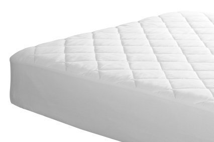 PLUSHY COMFORT Sleeper Sofa Mattress Pad Cotton Top, in 600 Tc Egyptian Cotton Available in Queen/Full/Twin (Queen)
