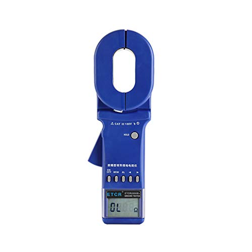 Lowest Price! XINXI-MAO Safe Meter Clamp-On Digital Ground Resistance Tester Clamp Earth Resistance ...