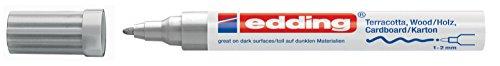 edding Mattlack-Marker edding 4040 creative, 1-2 mm, silber