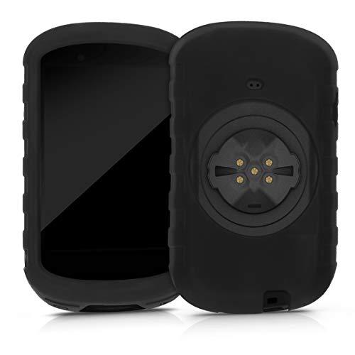 kwmobile Schutzhülle kompatibel mit Garmin Edge 830 - Hülle - Silikon GPS Fahrrad Navi Cover Case - Schwarz