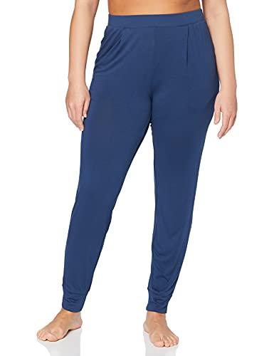 Amazon-Marke: Iris & Lilly Damen Schlafanzughosen, Blau (Blue), XS, Label: XS