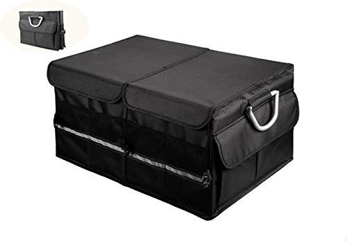U-Care Folding Car Trunk Storage Organizer UCARE Adjustable Multiple Compartment Storage Non-slip bottom Portable Storage Bag Large Capacity Black 22.8 * 15.7 * 11.8in