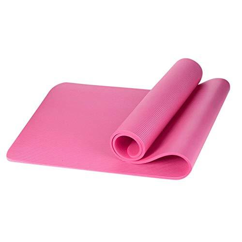 N / A 1CM EVA Estera de Yoga Alfombra Antideslizante Pilates Gimnasio Almohadillas de Ejercicio Deportivo para Principiantes Gimnasia Esteras de Gimnasia Ambiental 183X 61 X 1CM