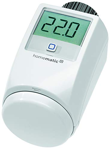 ELV Homematic IP Komplettbausatz Heizkörperthermostat HMIP-eTRV-2, für Smart Home/Hausautomation