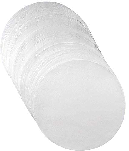 Non-Stick Round Parchment Paper- 6 inch - 100 Eco-Friendly Pack - Baking Paper Liners for Round Cake Pans Circle Cheesecake, Cooking, Air Fryer