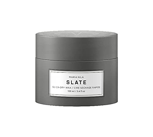 Maria Nila Minerals - Slate Quick-Dry Wax 100ml | Ein schnell trocknendes Haarwachs für starken Halt