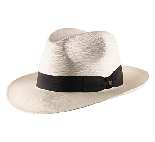 Stetson - Sombrero Fedora Philadelphia Panama - Talla XS
