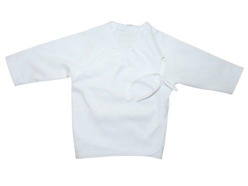 Langarm-Shirt Baby BY10 Gr. 50, Pullover weiß Neugeborene Babies Säugling-e zum Strampler Geschenk-e