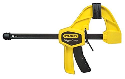 Stanley FatMax Einhandzwinge (705 mm Länge, 110 mm Ausladung, 445 mm Spannweite, 695 mm Spreizweite) 0-83-006