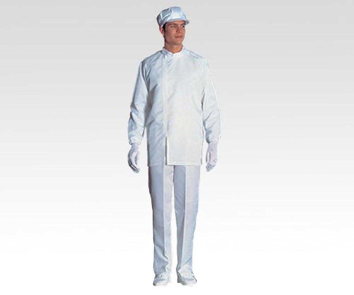 もっと少なくパキスタン人通り無塵衣FD200C 上衣?ホワイト LL