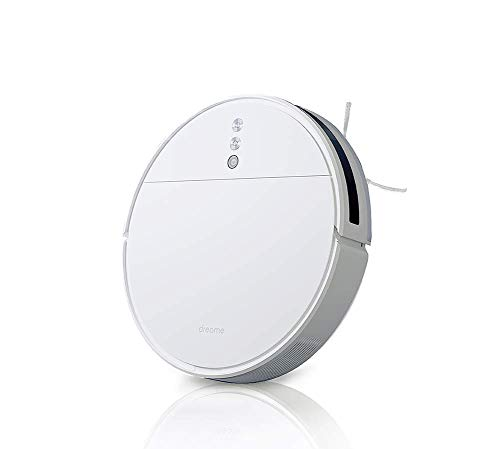 Dreame F9 – Roboter WiFi Superfine 2500 Pa, Starke Saugkraft, automatisches Aufladen, intelligente Mapeo, App-Steuerung, Hartböden, Teppiche – Weiß
