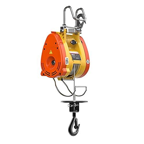 JCX Polipastos Electricos 160kg/350lbs Elevador Electrico con Mando A Distancia Inalámbrico, 30m...