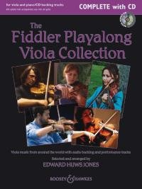 THE FIDDLER PLAYALONG VIOLA COLLECTION - arranged for viola - piano - with CD [Sheet Music / Sheetmusic] Composer: HUWS JONES EDWARD