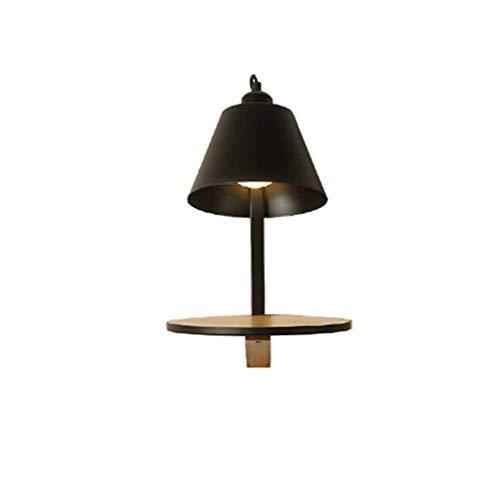 Willlly Wandlamp Wandlamp Moderne Achtergrond Wandplank Mode Creatieve Thuis Wandlamp Slaapkamer Hallway Lampen Kleur Zwart