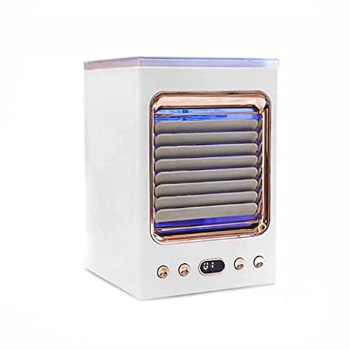 HGJINFANF Mini Air Condizionatore di Frigorifero Portatile Humidificatore Multi-Funzione Desktop Air Cooler per Ufficio