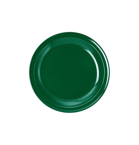 WACA® 1924-866 Dessertteller Kunststoffteller ∅ 195mm grün