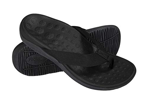 Orthotic Sandals with Great Arch Support (Black) 5 UK