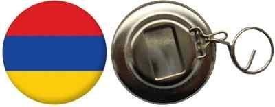 Flaschenöffner Flagge Fahne Armenien - 58mm