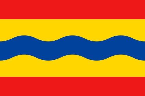 Overijssel (NL)  Flagge Fahne 90 * 150 cm