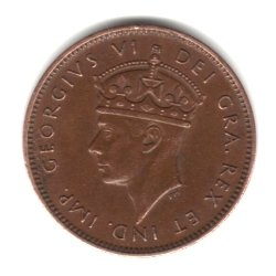 1938 Canada Newfoundland Small Cent Penny Coin KM#18 – 1st Year Small Cent Minted
