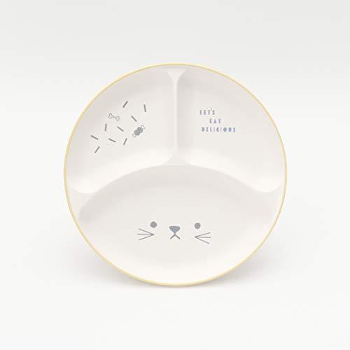 [アフタヌーンティーリビング]AfternoonTeaLIVINGベビー食器セットGR81山中塗アニマルお食事セットイエロー