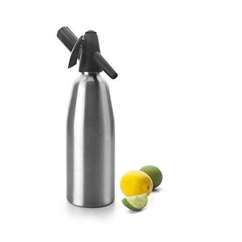 IBILI Classic sifone Soda, 800ml, in Alluminio, Argento, 30x 30x 30cm