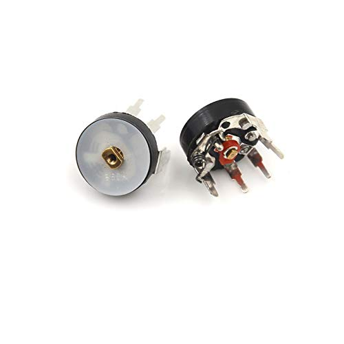 Potentiometer mit Schalter RV12 mm B503 B50K Leistungsverstärker, gerader Winkel, 10 Stück