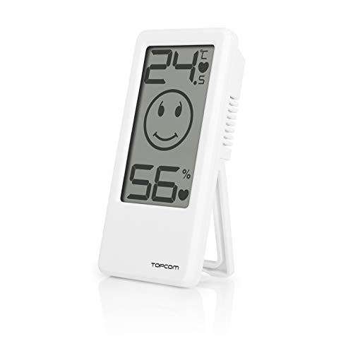 Vital Innovations 10003295 Topcom Indicator 101 - Termómetro y medidor de la humedad para el dormitorio del bebé