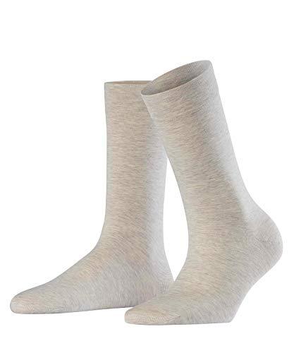 FALKE Damen Socken Sensual Cashmere - Baumwoll- /Kaschmirmischung, 1 Paar, Beige (Nut Melange 4770), Größe: 39-42